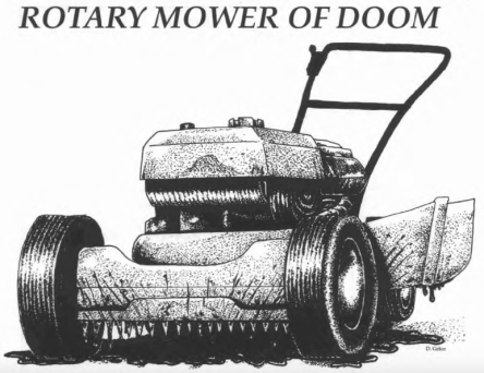 ROTARY MOWER OF DOOM