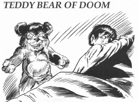 TEDDY BEAR OF DOOM